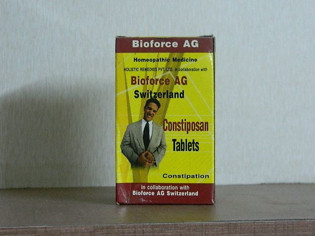 CONSTIPOSAN TABLET [ BIOFORCE ]