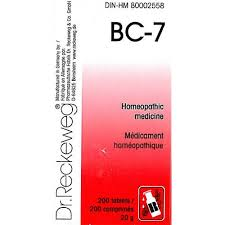 BC 7 [ Dr.Reckeweg - German ]