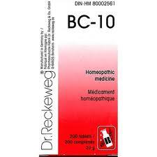 BC 10 [ Dr.Reckeweg - German ]