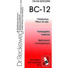 BC 12 [ Dr.Reckeweg - German ]