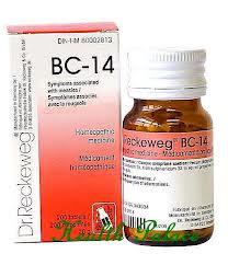 BC 14 [ Dr.Reckeweg - German ]