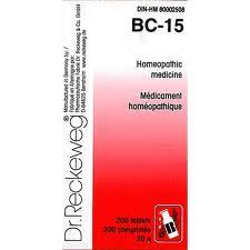 BC 15 [ Dr.Reckeweg - German ]