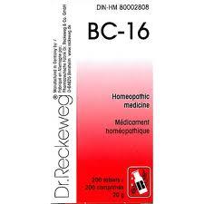BC 16 [ Dr.Reckeweg - German ]