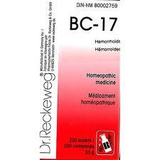 BC 17 [ Dr.Reckeweg - German ]