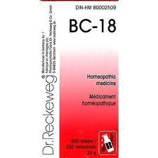 BC 18 [ Dr.Reckeweg - German ]