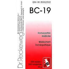 BC 19 [ Dr.Reckeweg - German ]