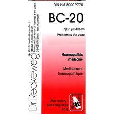 BC 20 [ Dr.Reckeweg - German ]