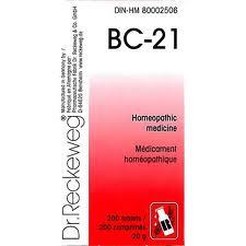 BC 21 [ Dr.Reckeweg - German ]