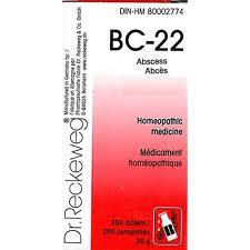 BC 22 [ Dr.Reckeweg - German ]