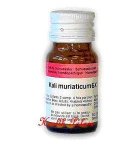 Kali Muriaticum [ Dr.Reckeweg - German ]