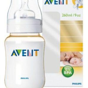AVENT FEEDING BOTTLE 260ML BPA FREE [ PHILIPS ]