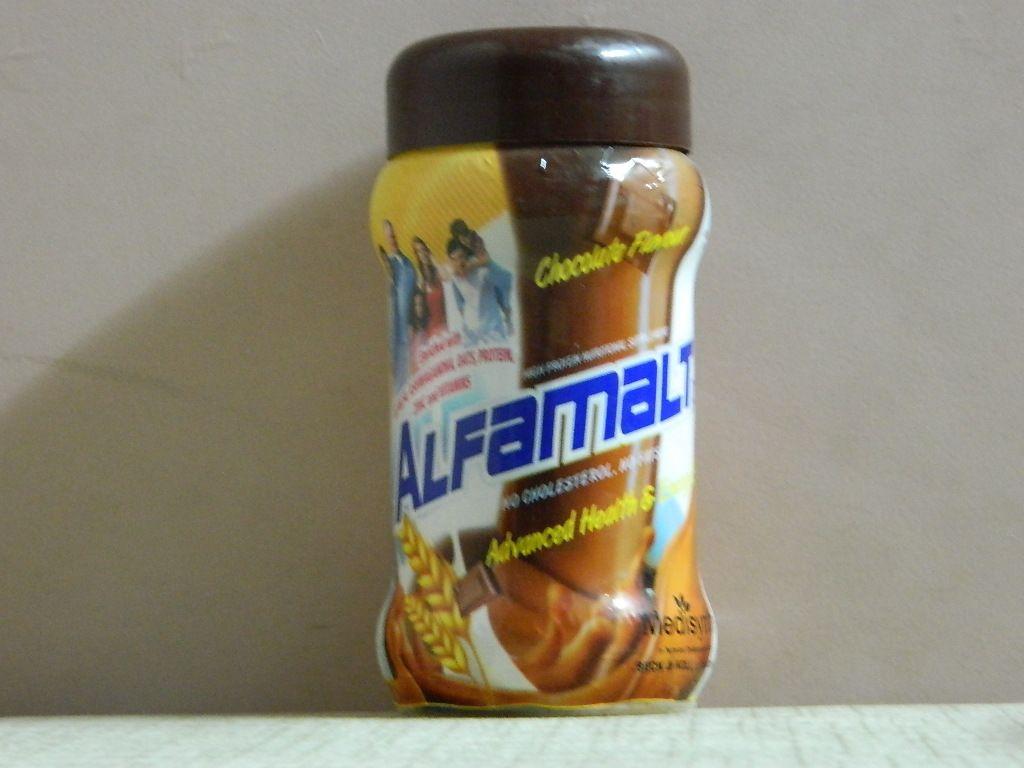 ALFAMALT PLUS CHOCOLATE FLAVOUR POWDER [ MEDISYNTH ]