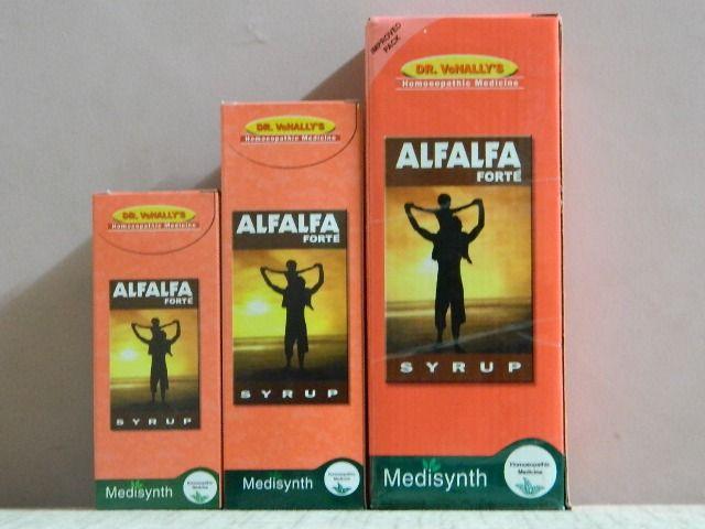 ALFALFA FORTE SYRUP [ MEDISYNTH ]