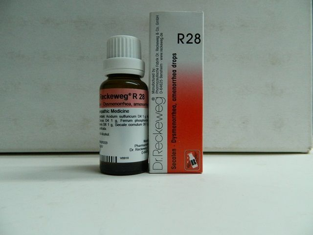 R28 DROPS [ DR.RECKEWEG ]