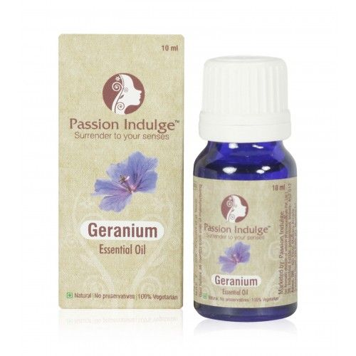 GERANIUM ESSENTIAL OIL [ PASSION INDULGE ]