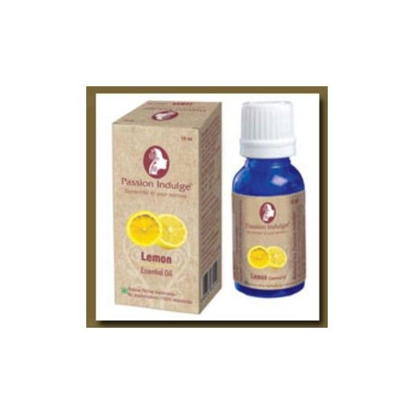 LEMON ESSENTIAL OIL [ PASSION INDULGE ]