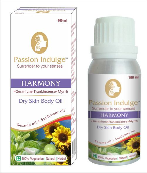 HARMONY DRY SKIN BODY OIL [ PASSION INDULGE ]