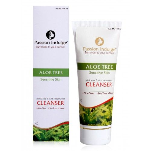 ALOE TREE FACIAL & BODY OIL FOR SENSITIVE SKIN [ PASSION INDULGE ]