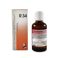 R 34 DROPS [ DR.RECKEWEG ]