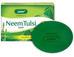 SUNNY HERBAL NEEM TULSI SOAP [ BAKSON ]