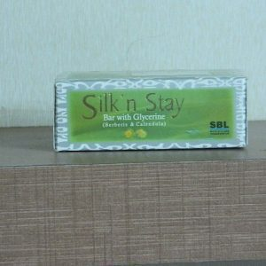 SILK? n STAY Soap with Glycerine (Berberis & Calendula) [ SBL ]