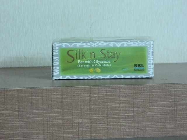SILK? n STAY Soap with Glycerine (Berberis & Calendula) [ SBL ]
