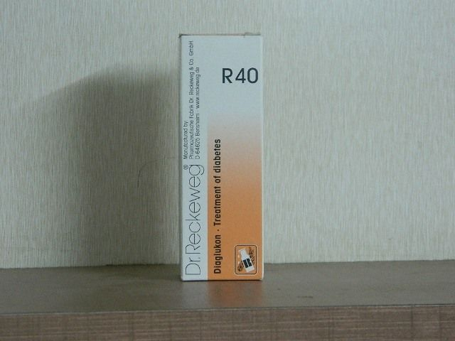 R 40 DROPS [ DR.RECKEWEG ]