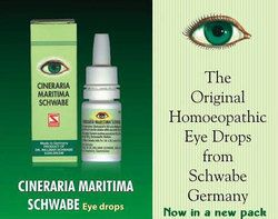 CINERARIA MARITIMA SCHWABE EYE DROPS [ WS - GERMAN ]