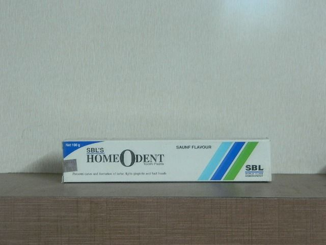 HOMEODENT TOOTH PASTE - SAUNF FLAVOUR [ SBL ]