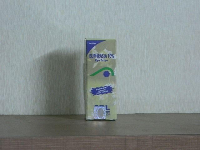 EUPHRASIA 10% EYE DROPS [ SBL ]