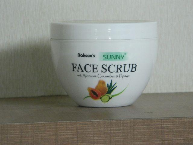 SUNNY HERBAL FACE SCRUB [ BAKSON ]