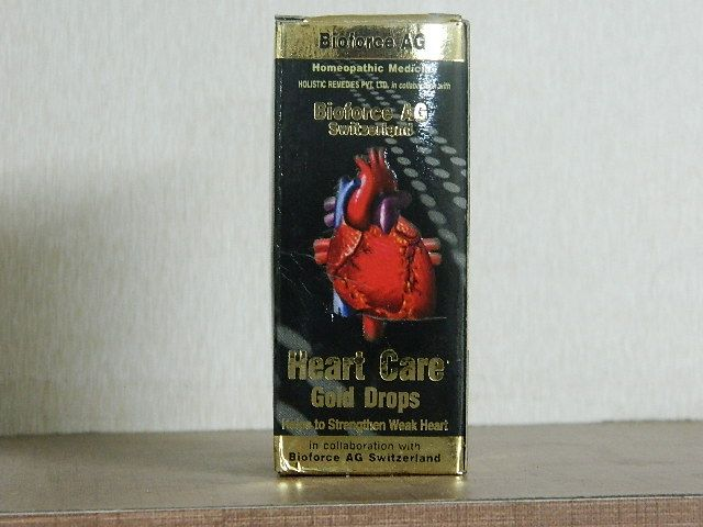 BLOOUME NO.17 [ OLD NAME - HEART CARE GOLD DROPS ] [ BIOFORCE ]