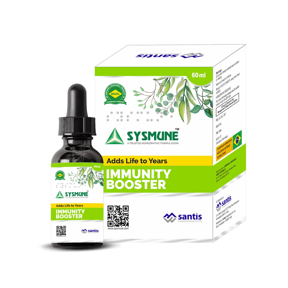 India's 1st scientifically researched and clinically proven immune system modifier which is truly safe & non toxic.